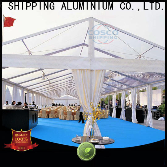 COSCO small frame tent supplier for disaster Relief