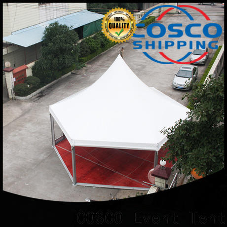 geodesic camping gazebo event supplier for disaster Relief