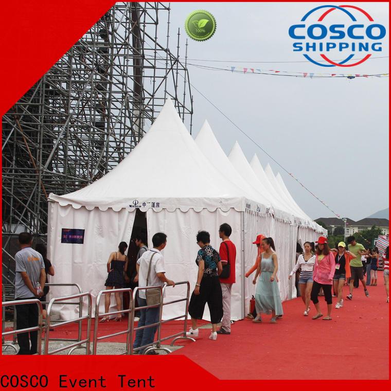 COSCO gazebo tent certifications Sandy land