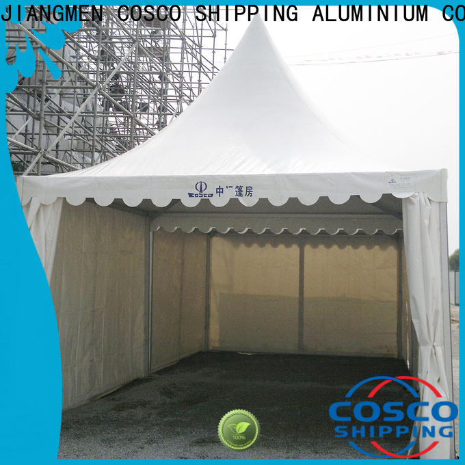 COSCO gazebo gazebo tent certifications rain-proof