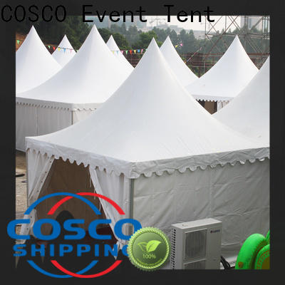 COSCO curved outdoor gazebo China rain-proof