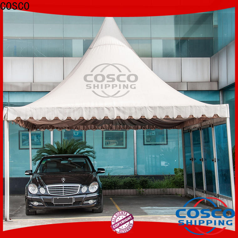 COSCO peg and pole camping gazebo in-green for engineering