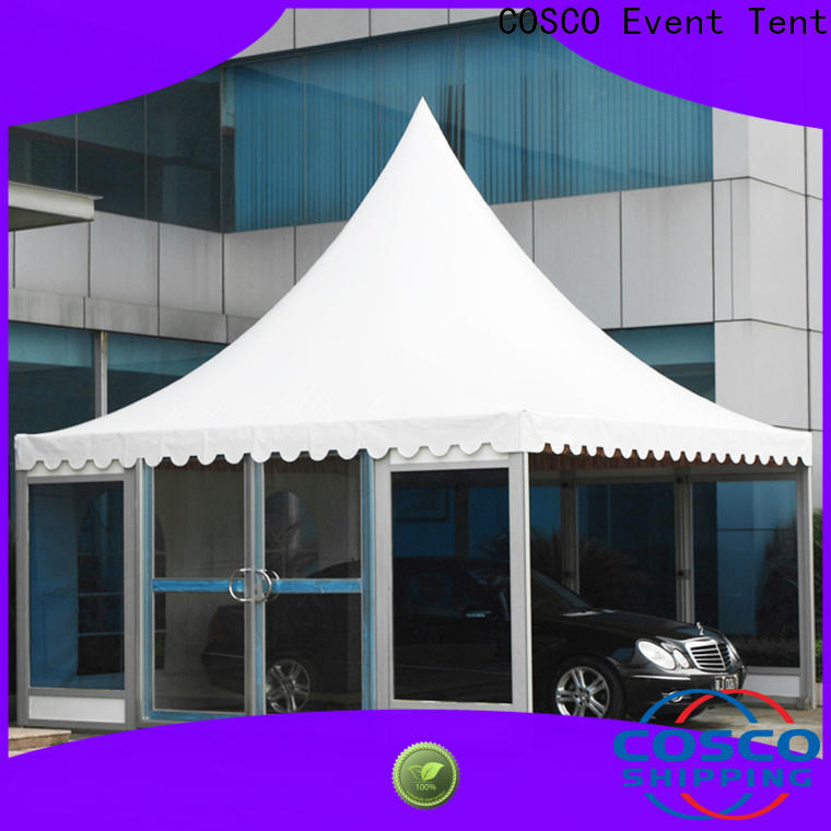 COSCO event gazebo kits in-green cold-proof