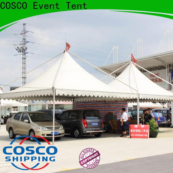 COSCO peg and pole camping gazebo vendor dustproof