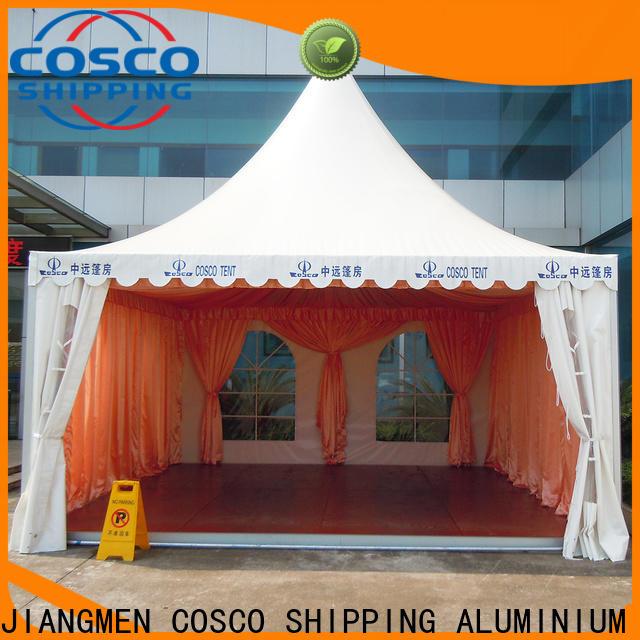 COSCO event pop up gazebo certifications rain-proof