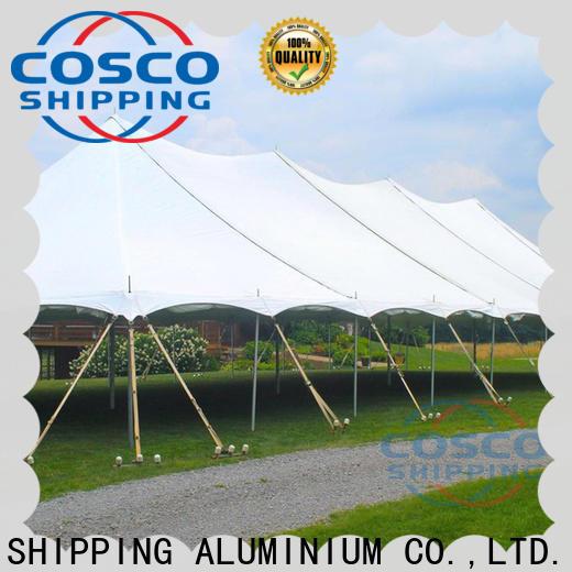 COSCO exhibition garden gazebos for disaster Relief