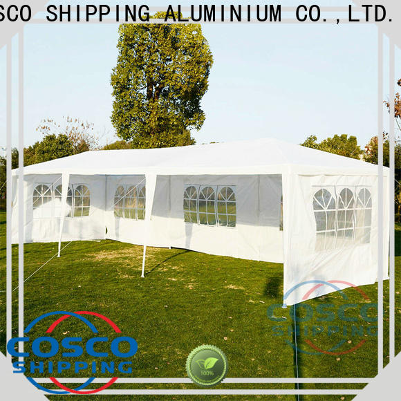 COSCO tent steel gazebo certifications cold-proof