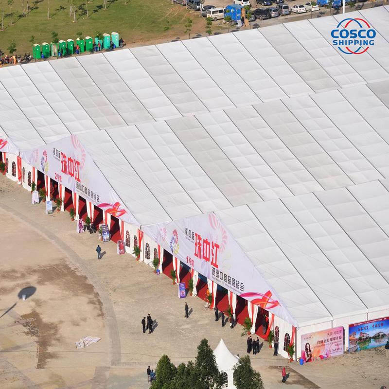 What's the advantage of aluminum PVC structure tent