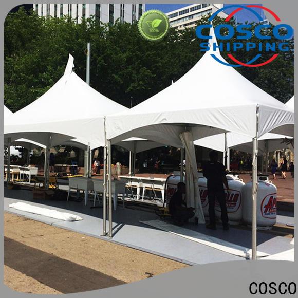 COSCO supernacular event tents owner rain-proof