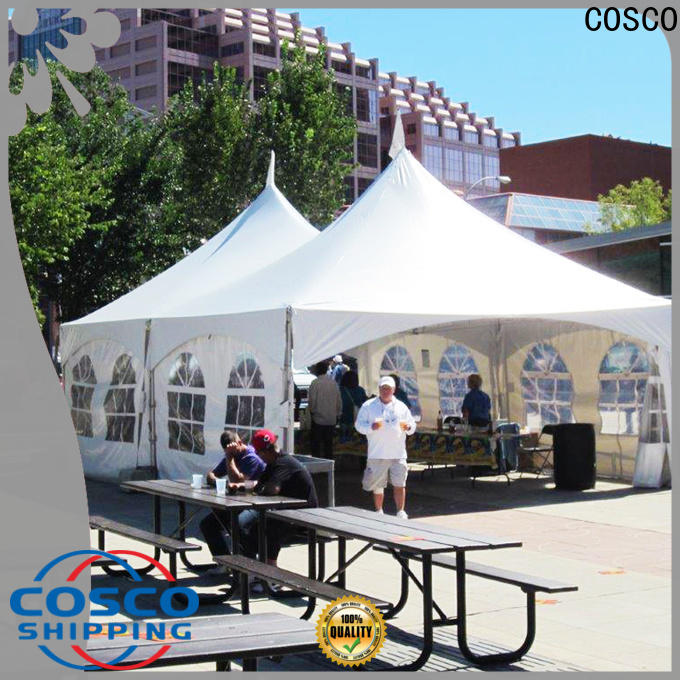 COSCO new canopy tents owner cold-proof