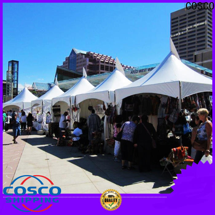 COSCO marquee frame tent rental owner cold-proof