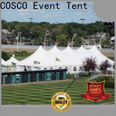 COSCO awesome canvas tents marketing factory