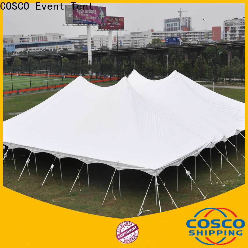 COSCO marquee canvas tents long-term-use Sandy land