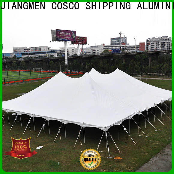 COSCO outstanding peg and pole tent supplier foradvertising