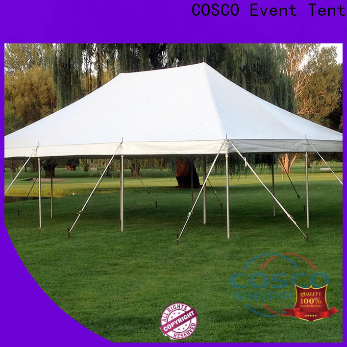 COSCO marquee camping tents certifications grassland