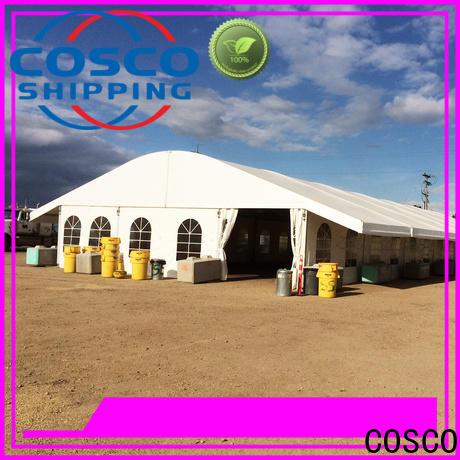 COSCO high-energy pvc tent marketing factory