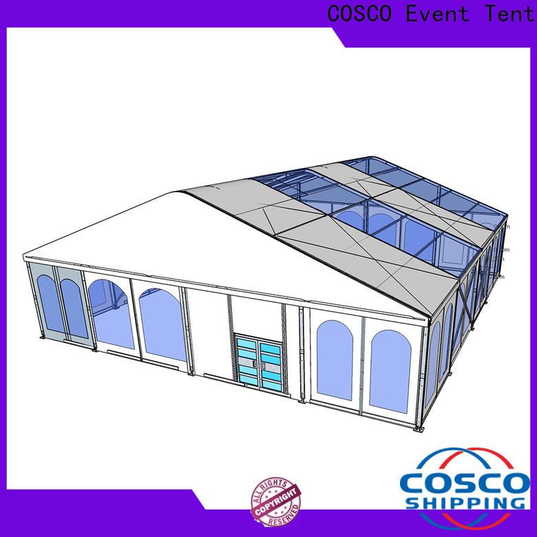 aluminium tent 25x60m factory for wedding