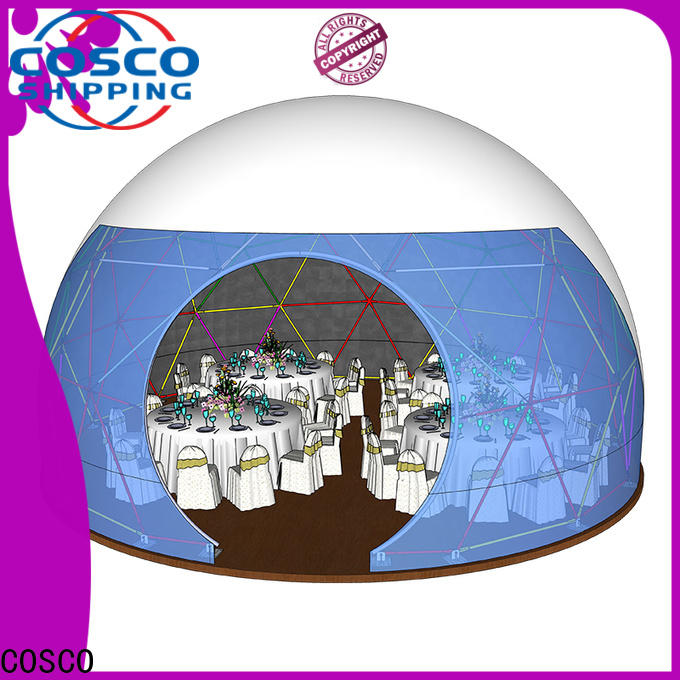 COSCO arcum geodesic dome tent for sale cold-proof
