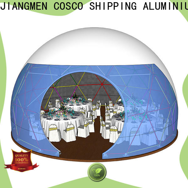 COSCO curved event tents for sale owner for party