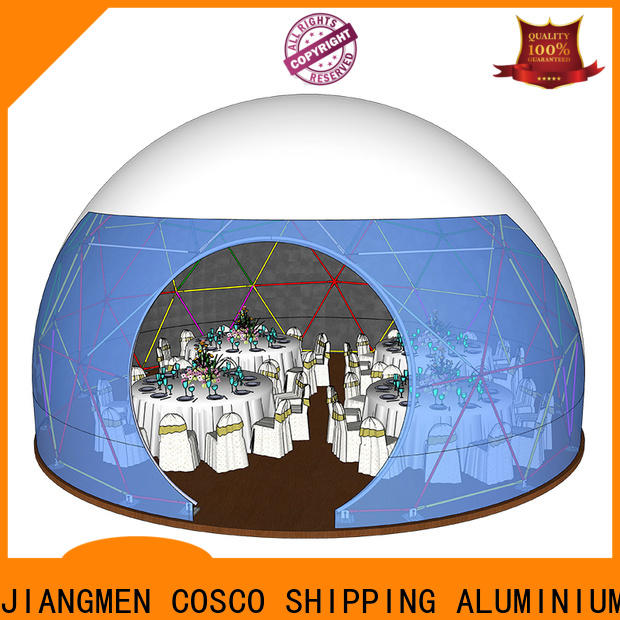 marquee geodesic dome tents diamrter manufacturer cold-proof