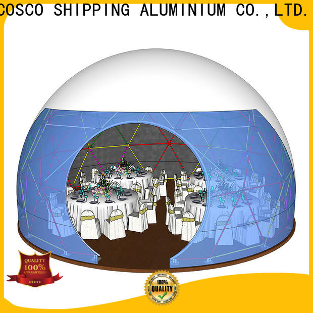 COSCO diamrter geodesic dome tent cost for wedding