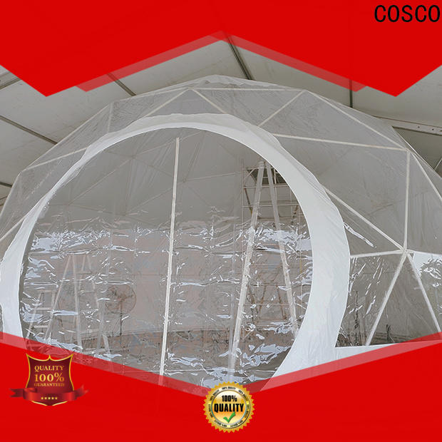 COSCO dome event tents for sale owner cold-proof