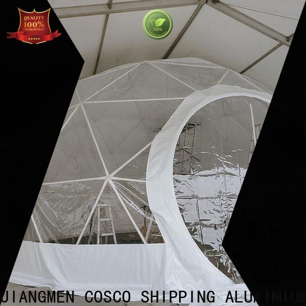 COSCO diamrter dome tent certifications snow-prevention