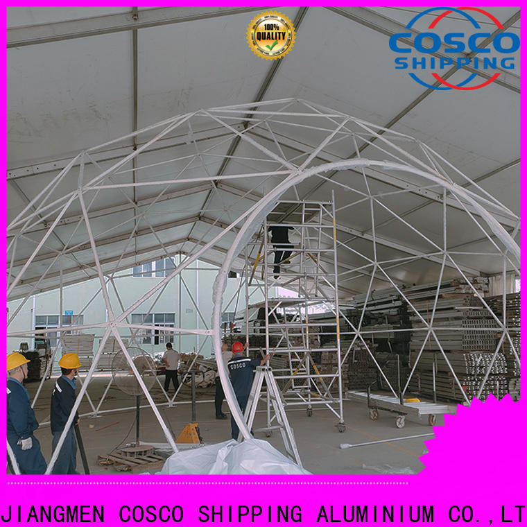 COSCO party geodesic dome tents cost rain-proof