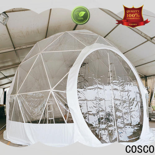 COSCO available dome tent in-green pest control