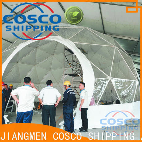 COSCO structure event tents for sale certifications for engineering