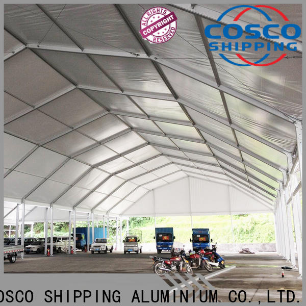 COSCO high-energy event tents supply for event