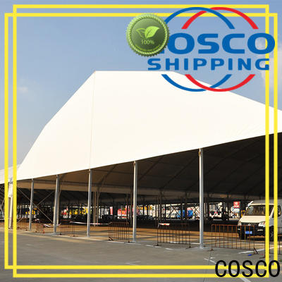 COSCO canopy wedding tent rental cost supply factory