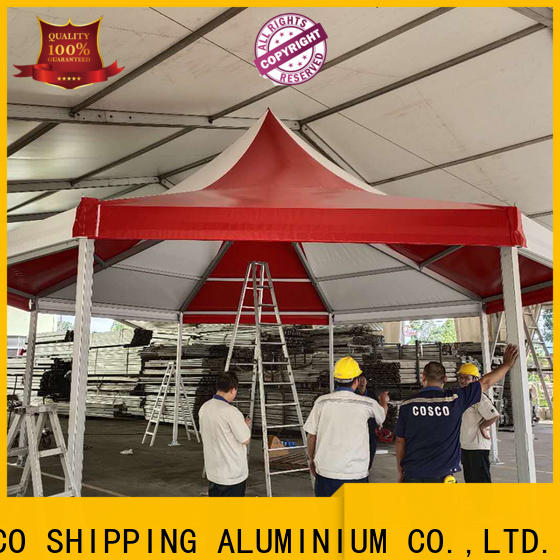 COSCO mixed garden marquee marketing cold-proof