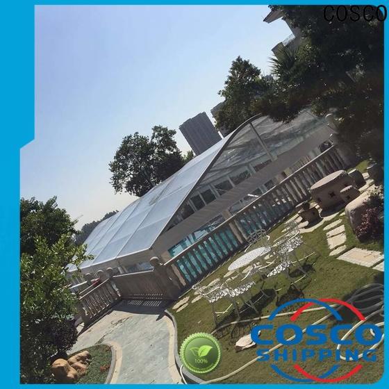 COSCO 25x60m aluminium tent factory for wedding