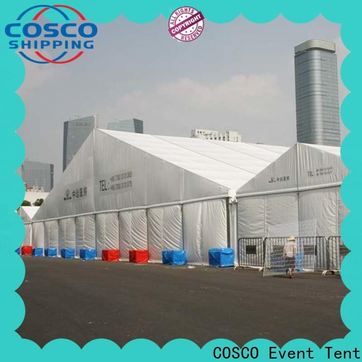 COSCO big commercial tents for sale supplier