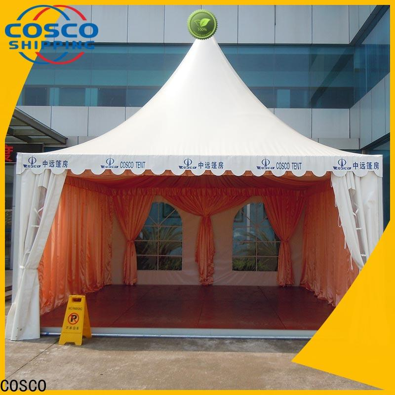 COSCO superior pagoda tent for engineering