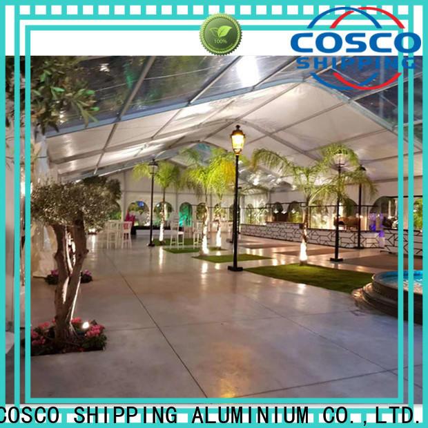 COSCO elegant wedding party tent for-sale