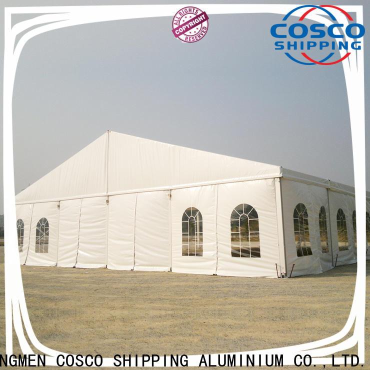 COSCO aluminium tent rentals owner