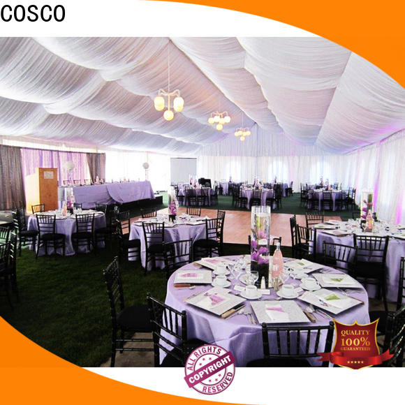 COSCO exquisite large tents cost foradvertising