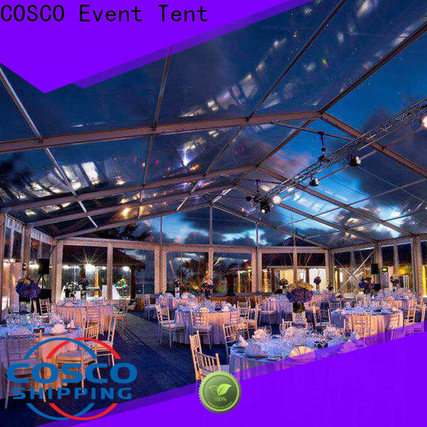 COSCO polygon event tents for sale for sale