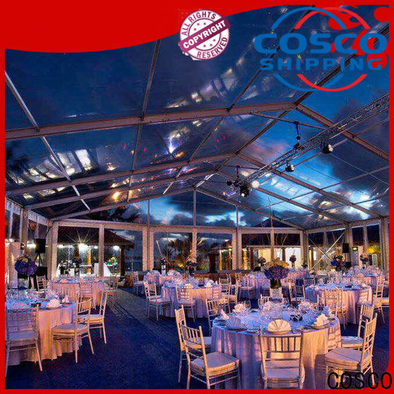 COSCO canopy large party tents for sale cost foradvertising