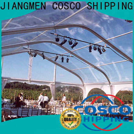 COSCO high peak commercial party tents for sale price for camping