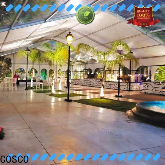 COSCO frame tents for sale marketing grassland