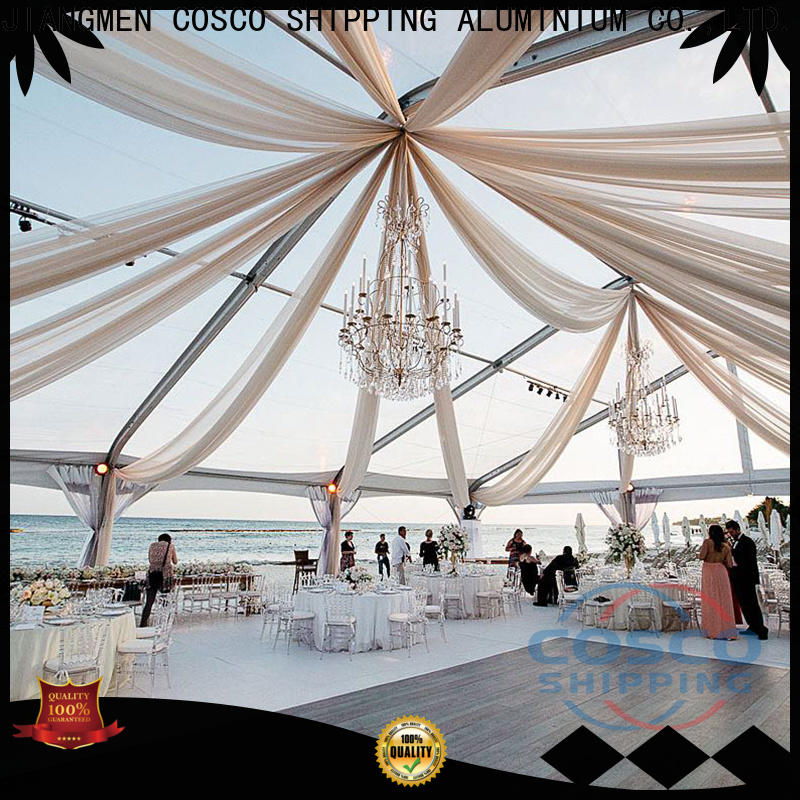 COSCO custom commercial tents type Sandy land