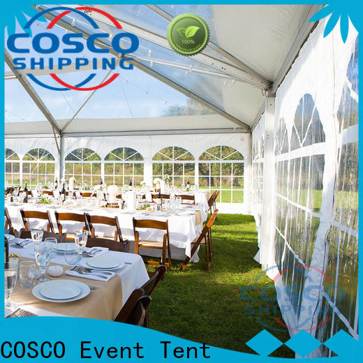 COSCO 3x9m tent manufacturers price for disaster Relief