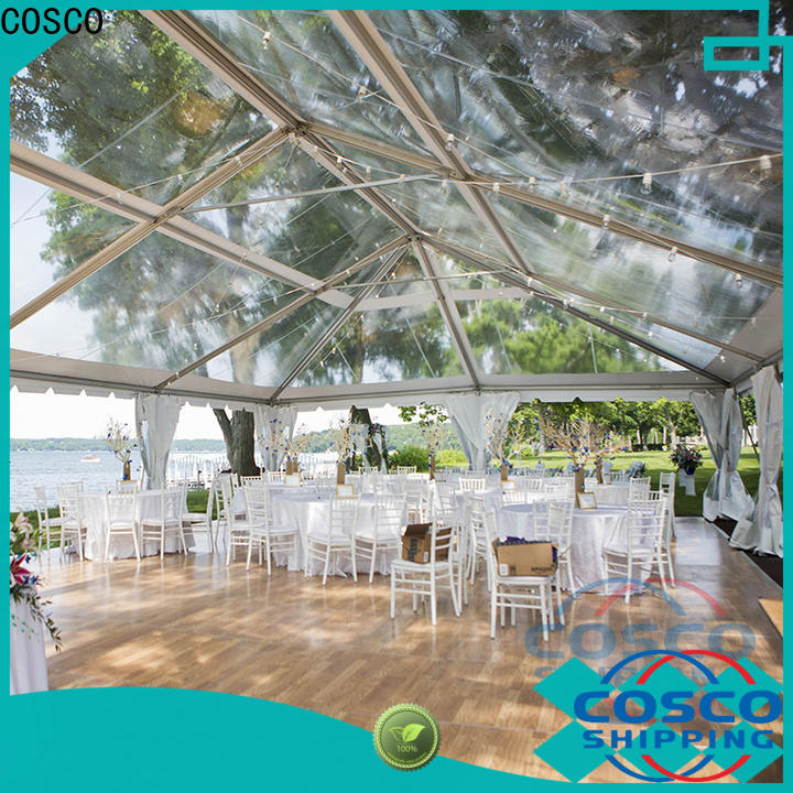COSCO modular large party tents for sale supplier
