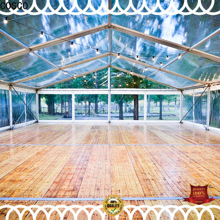 COSCO commercial party tents for rent cost foradvertising
