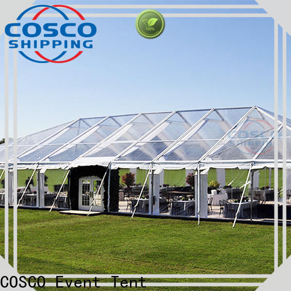 COSCO outdoor industrial tents experts foradvertising