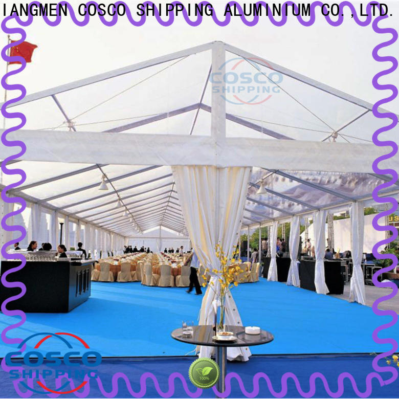COSCO polygon pole tents for sale owner grassland
