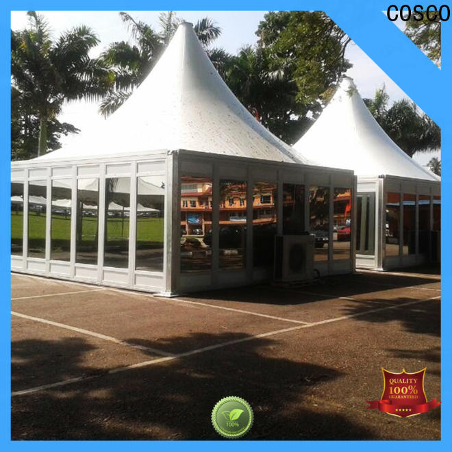 COSCO tent gazebo for sale widely-use dustproof